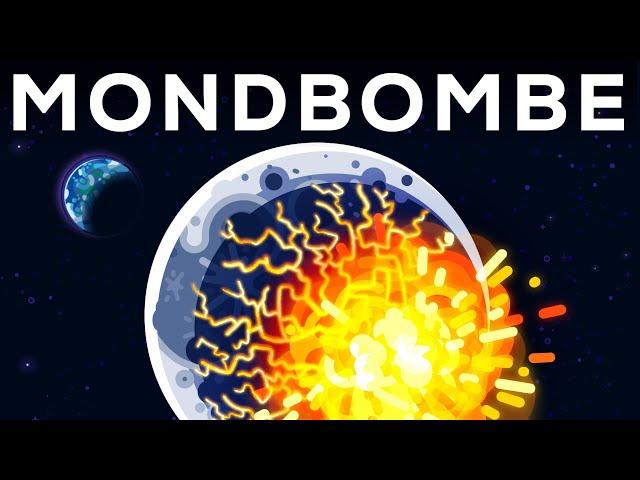 Was passiert, wenn wir eine Atombombe auf den Mond schießen?