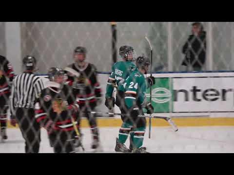 Jr. Sharks 14u A Vs. Santa Clara Blackhawks - Pre-Season, 09-23-2017