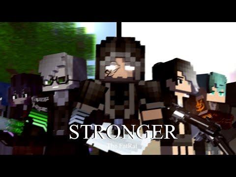 """""""Stronger"""" - A Minecraft Original Music Video ♪"""
