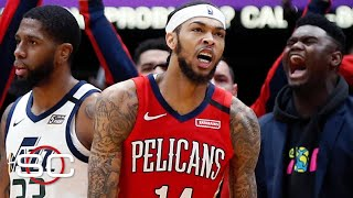 Brandon Ingram is developing into a real star with the Pelicans | SportsCenter
