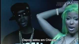 Nicki Minaj Beez In The Trap Explicit ft 2 Chainz (Legendado em Português PT-BR) Official Music