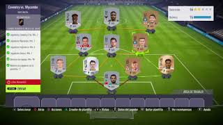 Coventry vs Wycombe Fifa 18 ultimate team