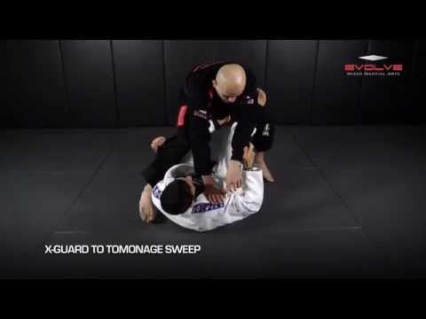BJJ: 5 Brazilian Jiu-Jitsu X-Guard Sweeps | Evolve University