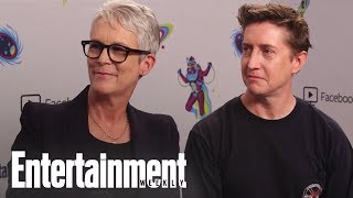 'Halloween': Jamie Lee Curtis Dishes On Returning To 'Halloween' | SDCC 2018 | Entertainment Weekly