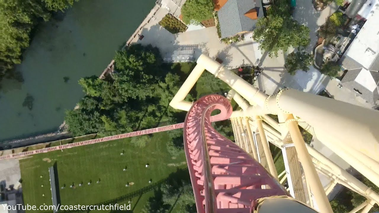 Oh No Not This Again >> Top Thrill Dragster (HD POV) Cedar Point - YouTube