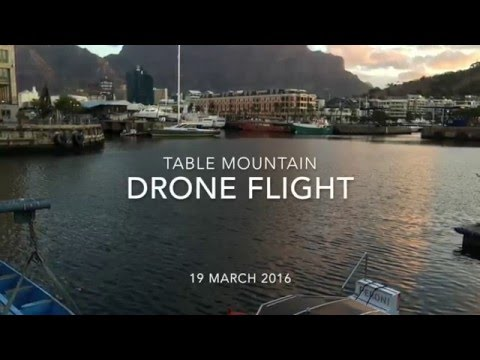 Table Mountain Drone Video