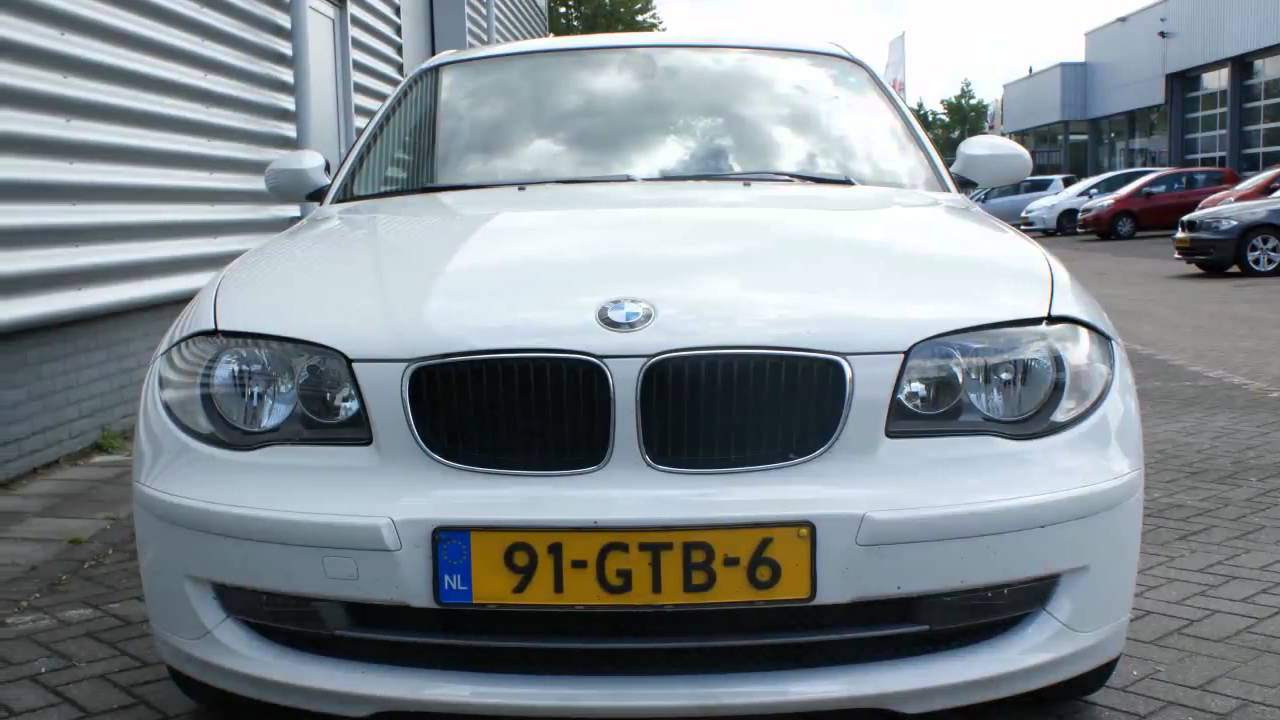 Bmw 1 Serie 116i Executive Sport Wit 17 Lmv Start Stop Parrot Youtube