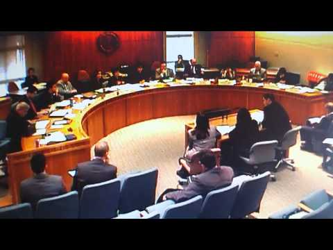 House Ed Committee Hearing on HB 319 March 9, 2015