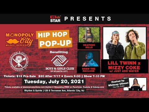 HIP HOP   POP-UP LIVE from Rhythm & Spirits