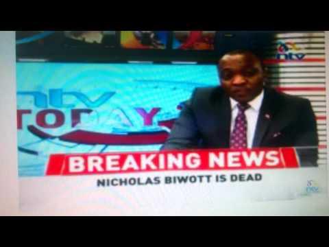 Daniel Moi, leaders mourn Nicholas Kipyator Biwott ;total man'