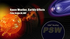 PSW 2381 Space Weather, Earthly Effects | Antti Pulkkinen