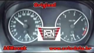 BMW 320d 120Kw e90 2006g Manual - AENovak Chip Tuning(AENovak Chip Tuning AEN Optimum Chip Tuning BMW 320d 120Kw e90 2006 godina (Manual transmision) Optimum Tuning sa 163Ks na 195Ks! Prije tuninga ..., 2010-08-20T12:10:28.000Z)