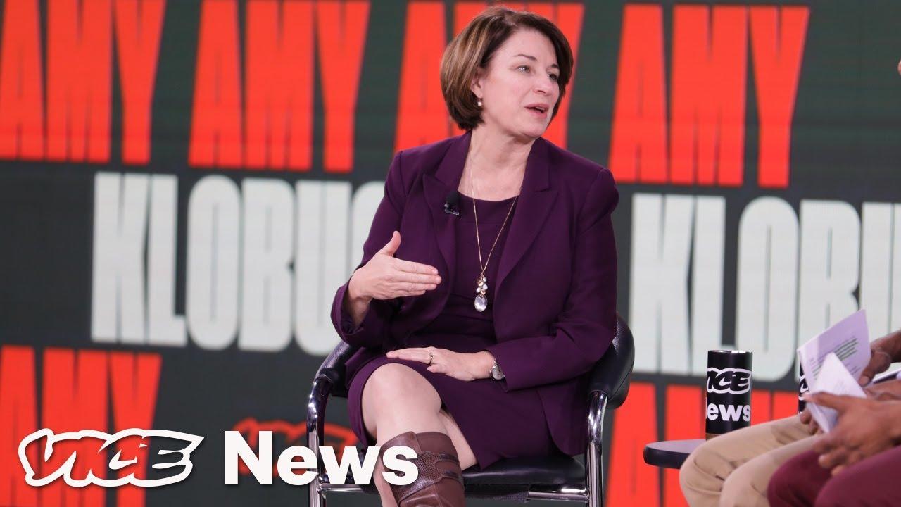 Amy Klobuchar Talks About Her Moderate Message
