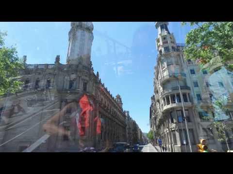 Bus tour around Barcelona, Spain #4 - June 2016 Dji Osmo