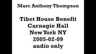 Marc Anthony Thompson 2005-02-09