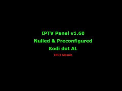 IPTV Panel v1.60  Nulled & Preconfigured