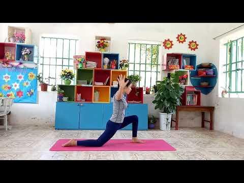 bài tập Yoga tại nhà làm săn chắc cơ mông, mở vai, mở ngực