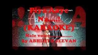 Piya Aaye Na Karaoke............!(Abhijith Jeevan)