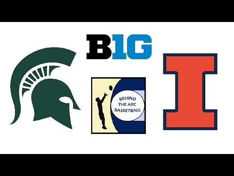 NCAA Basketball: Michigan State Vs #22 Illinois (Live Play-By-Play & Reactions)