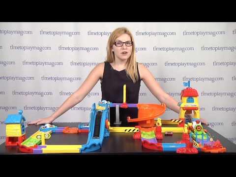 Go Go Smart Wheels Train Station Playset From Vtech Youtube