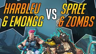 HARBLEU & EMONGG vs. SPREE & ZOMBS - Overwatch