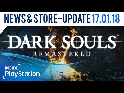Dark Souls Remastered kommt auf PS4! | PlayStation News & Store Update
