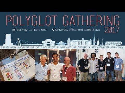 Vlog | Bratislava & Polyglot Gathering 2017