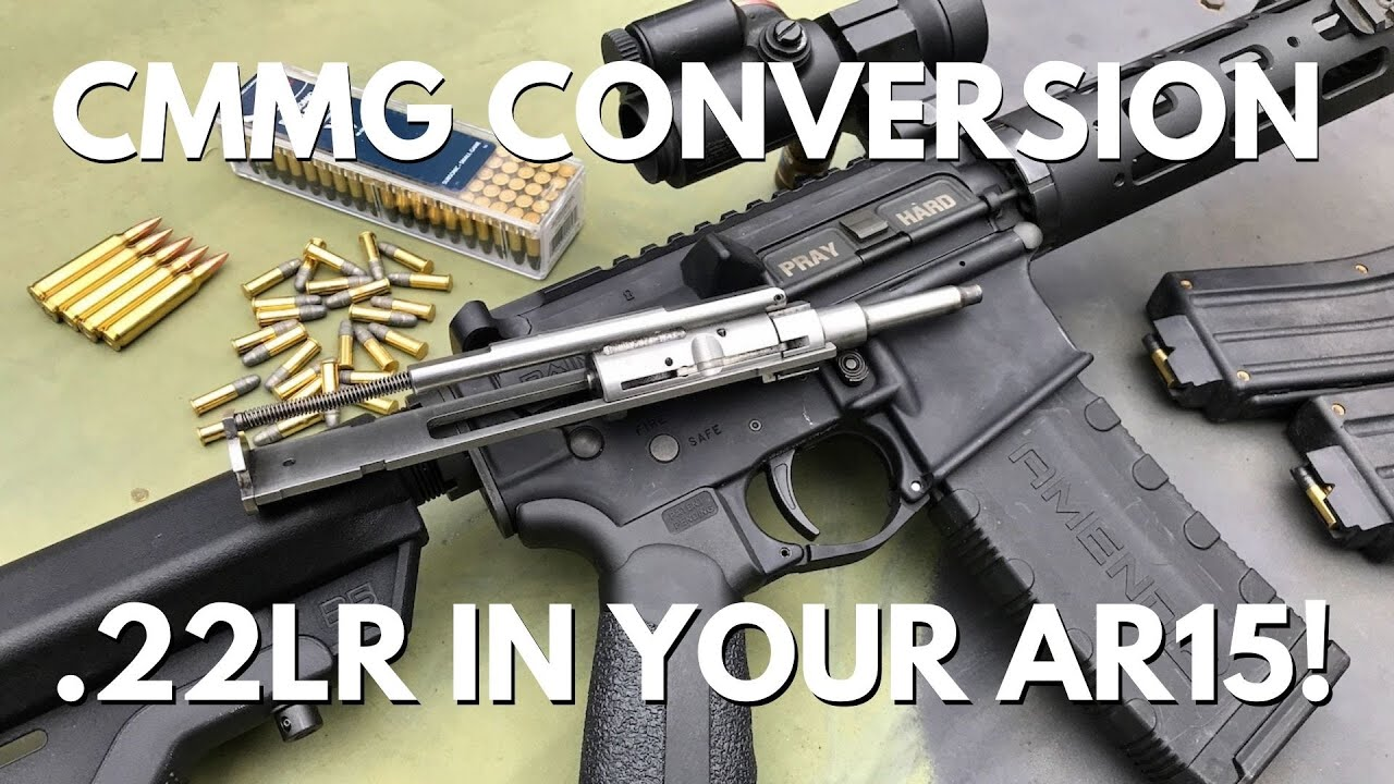 CMMG 22LR AR Conversion Bolt - Shoot 22LR Through Your AR15!
