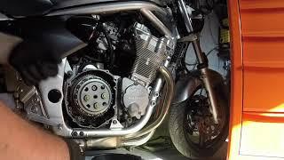 Garage #5 - Suzuki GSF Bandit 600 sprzęgło demontaż, pomiar, montaż.