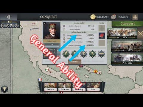 European War 6,1914 Mod General Ability