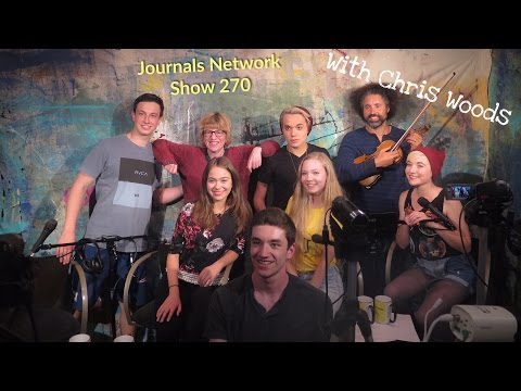 Journals Out Loud with Guest Chris Woods