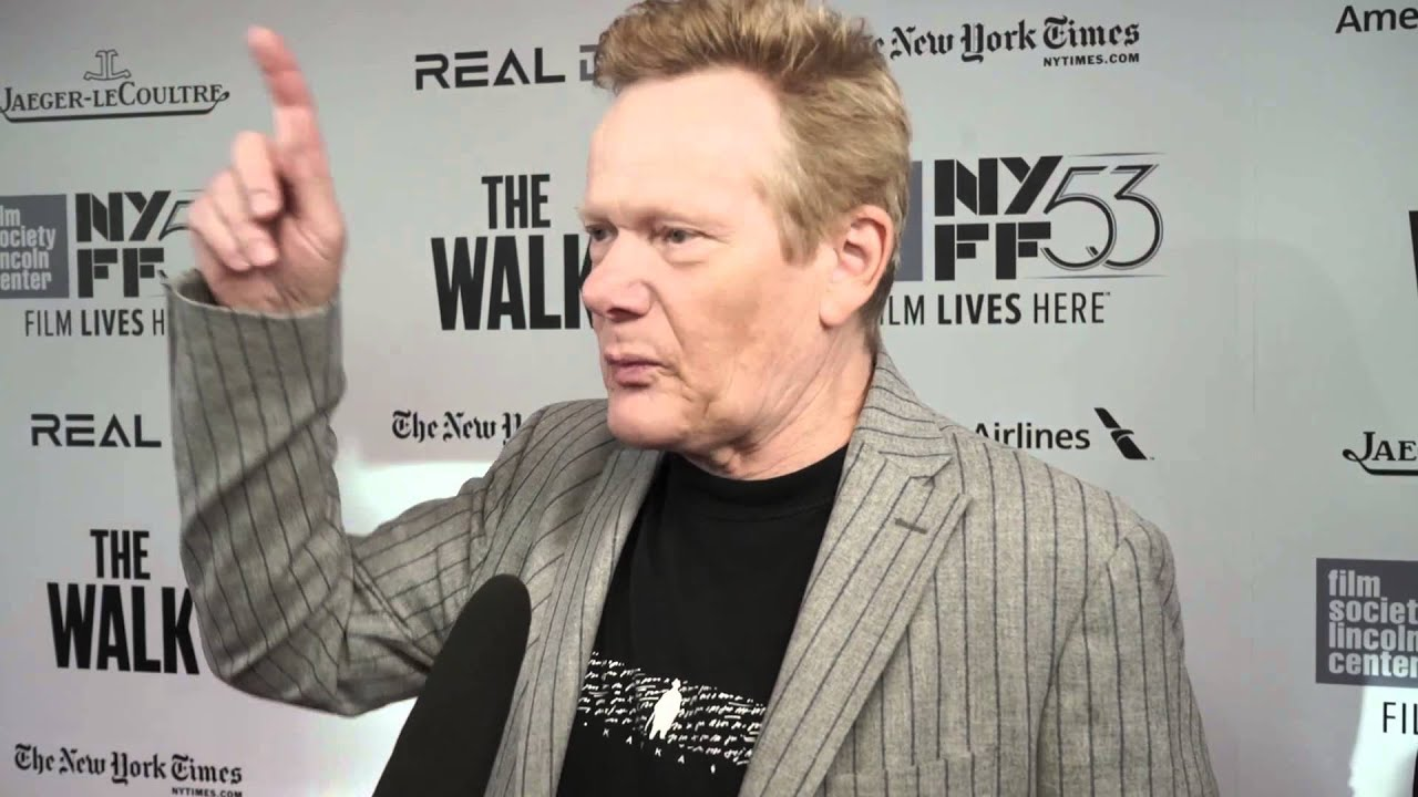 Philippe Petit | 'The Walk' Red Carpet | NYFF53