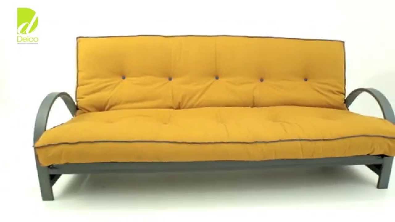 Deico cambrils sof cama tutorial forma de apertura - Sofa cama tipo libro ...