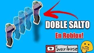 👉como do a double jump in Roblox!-[TUTORIAL ESPAÑOL] 😱👌