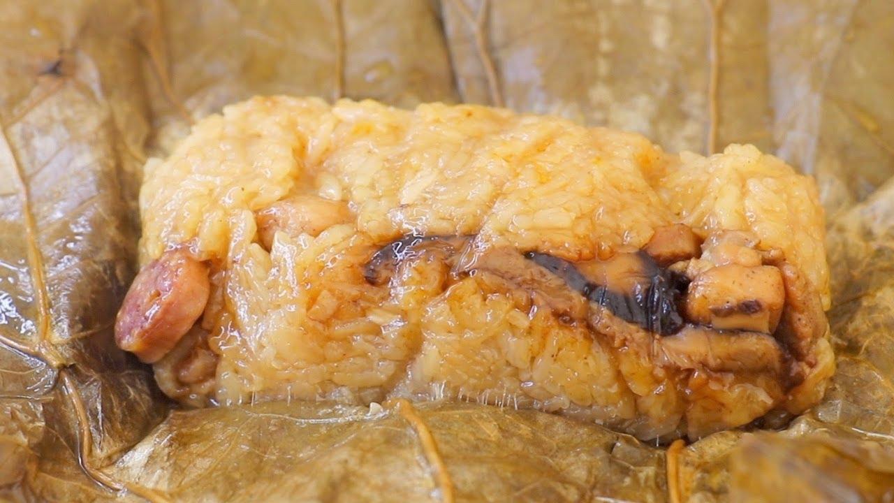 珍珠雞的做法~荷葉糯米雞的迷你版!看著都流口水!【美食天堂】家常料理食譜 一學就會