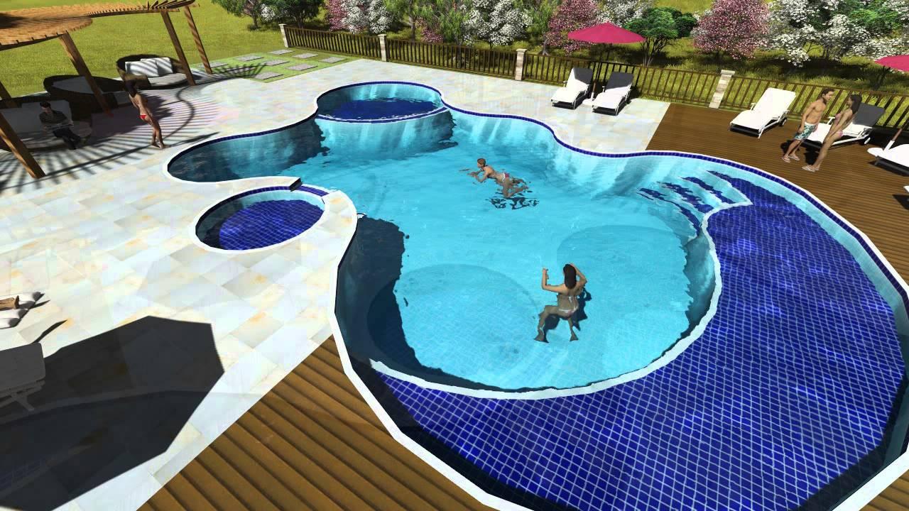 Piscina de concreto armado em belo horizonte projeto - Cemento para piscinas ...