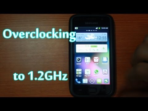 Overclocked Samsung Galaxy SL i9003