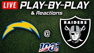 Chargers vs Raiders | Live Play-By-Play & Reactions