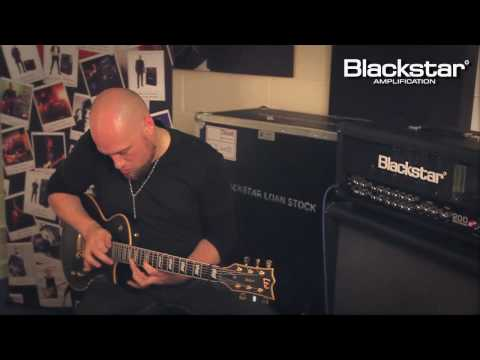 Andy James jams with the Blackstar HT-DISTX distortion pedal