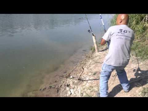 Fishing Alligator Gar (catan) Rio Grande 4'9