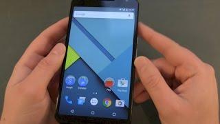 Google Nexus 6 einrichten und erster Eindruck