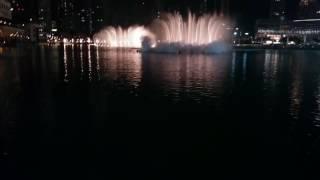 Dubai Fountain Celine Dion