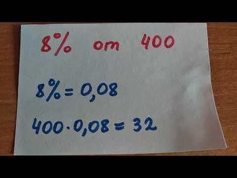 Как найти проценты от числа