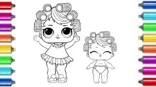 LOL Surprise Dolls Coloring Book |  Раскраска лол  LOL