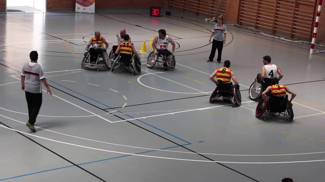 Iii Vs España Rugby Aragon Silla Cataluña Ruedas Campeonato QxBedEWrCo