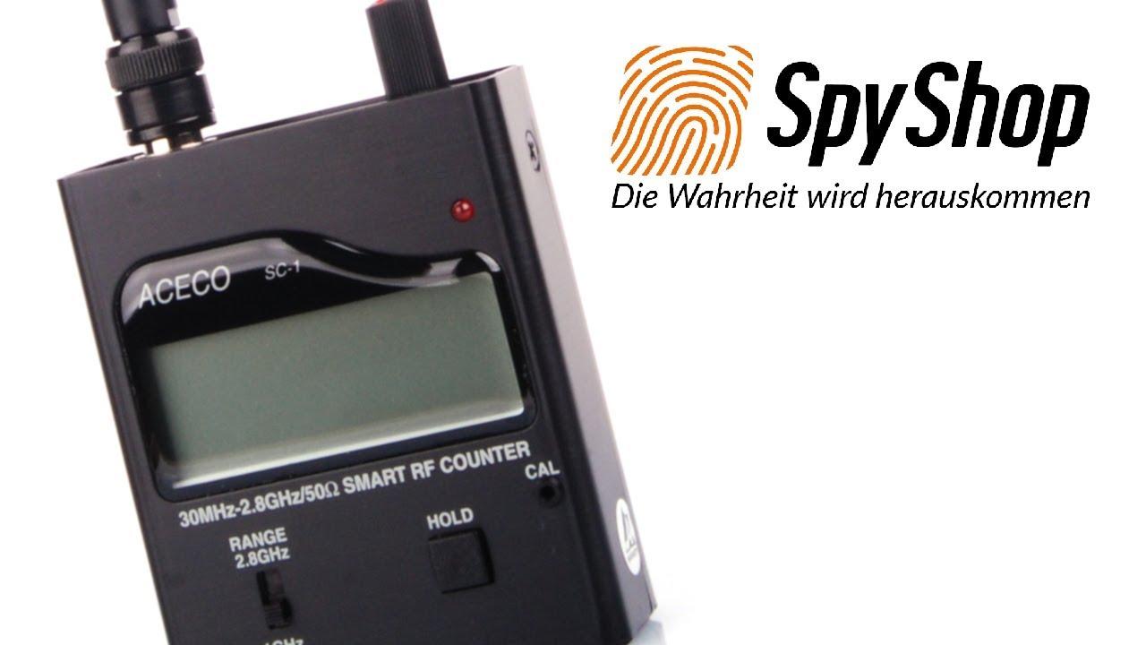 Detektor für analoge/digitale Abhörgeräte und Handys Aceco