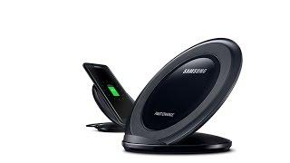 New Samsung Fast Wireless Charger. Обзор быстрой беспроводной зарядки.