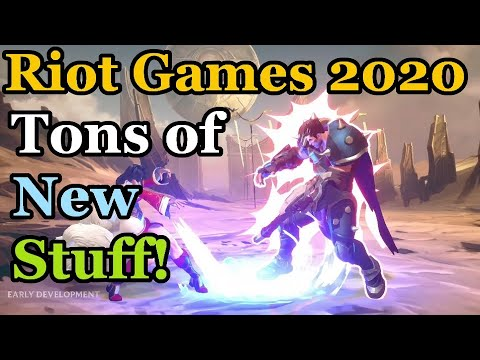 Best Arpg 2020.Riot Games 2020 Fps Arpg Mmo Fighting Game Rise Of The Elements And More