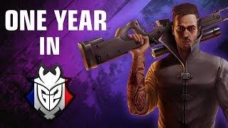 CS GO kennyS One year in G2 Esports