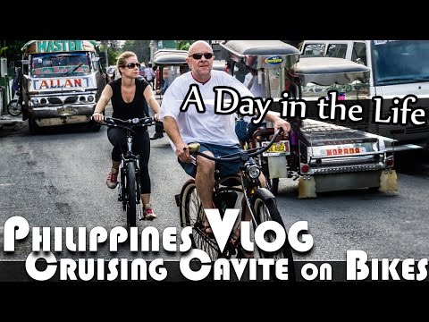 LIVING IN THE PHILIPPINES VLOG CRUISING CAVITE ON BIKES (ADITL EP95)